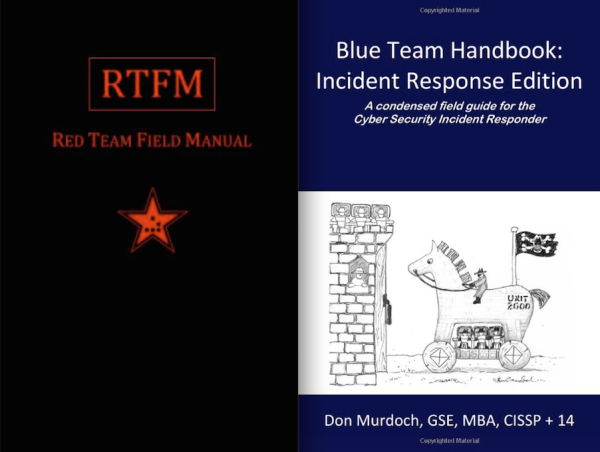 RTFM and Blue Team Handbook